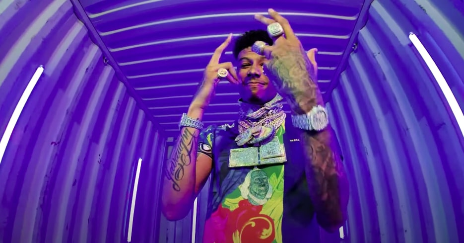 Blueface - Yea Yea feat. Coyote (Video)