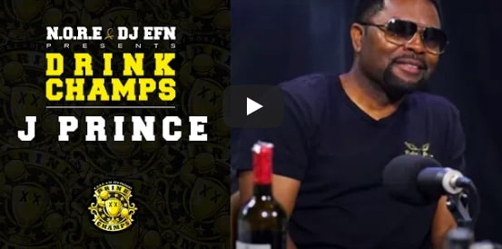 J Prince droppt unbezahlbares Game bei Drink Champs